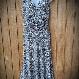 Courtney multi colored sleeveless dress
